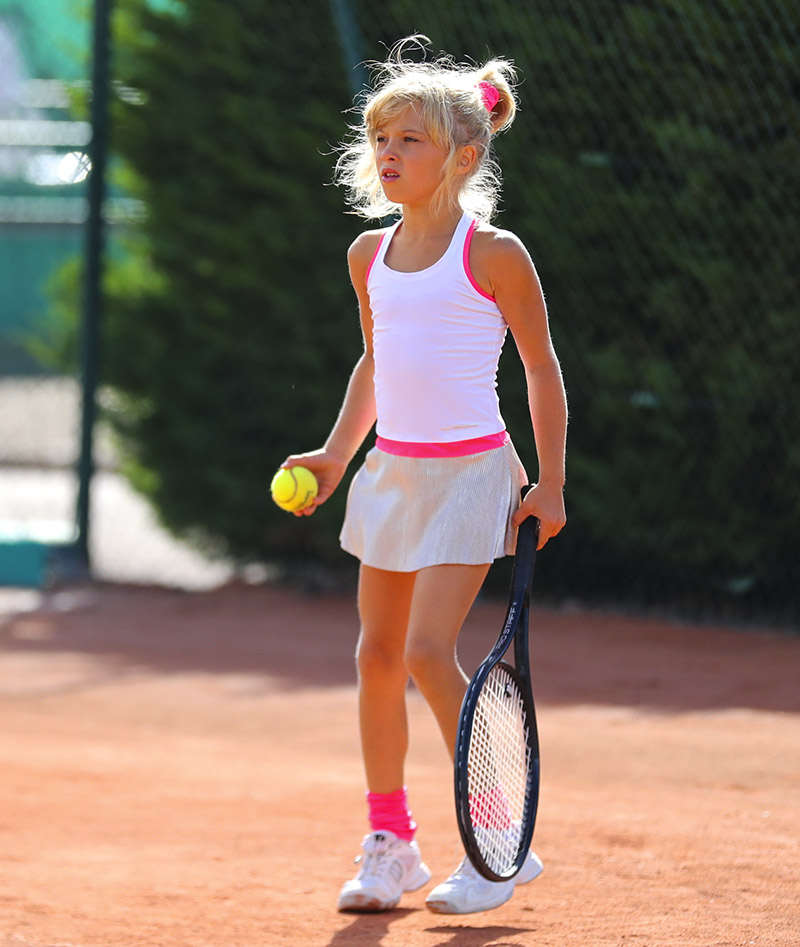 girls white tennis dress bella zoe alexander uk