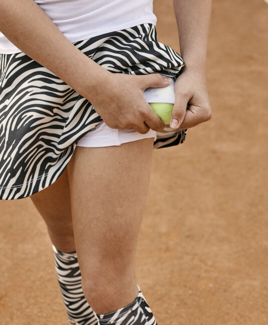 girls white tennis dress zebra zoe alexander uk vika
