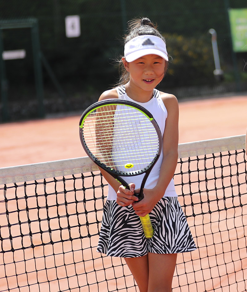 JUDY GIRLS TENNIS CLOTHES ZEBRA DRESS ZOE ALEXANDER UK ZA 800 A96I4124