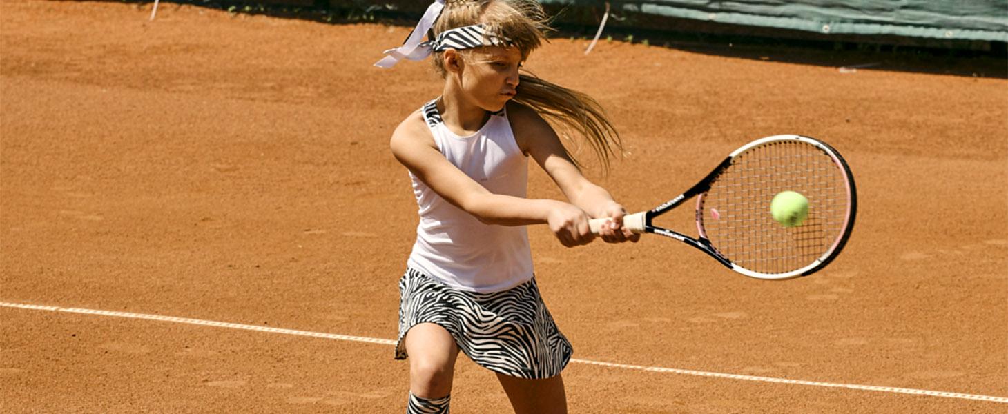 girls white tennis dress zebra vika zoe alexander uk