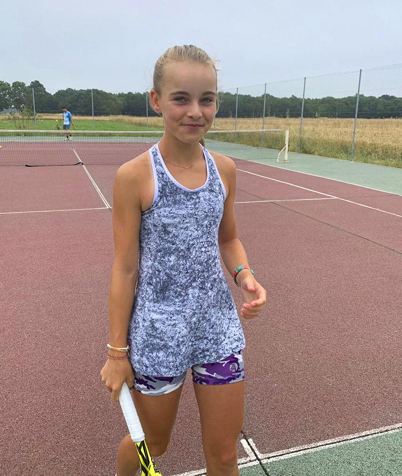 grey cloud girls tennis tank top vest zoe alexander uk