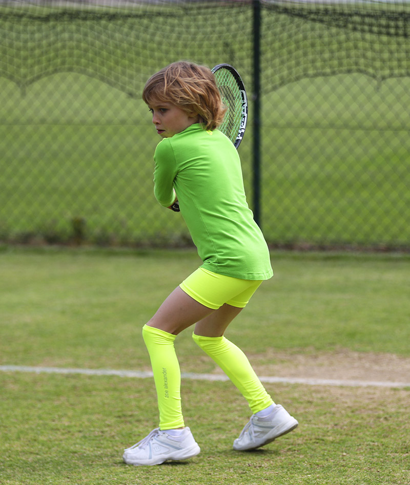 green rebecca girls tennis training top long sleeve zoe alexander uk