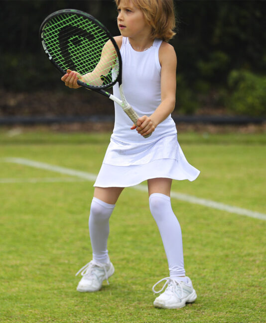 abigail girls white tennis dress zoe alexander uk