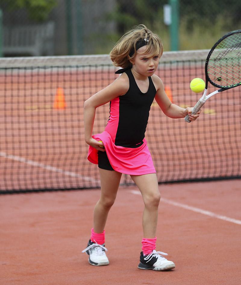 ashleigh black pink girls tennis dress zoe alexander uk