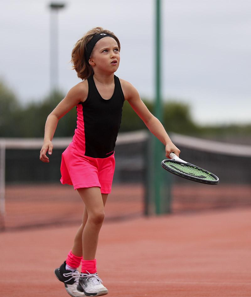 black girls tennis dress racerback zoe alexander uk ashleigh