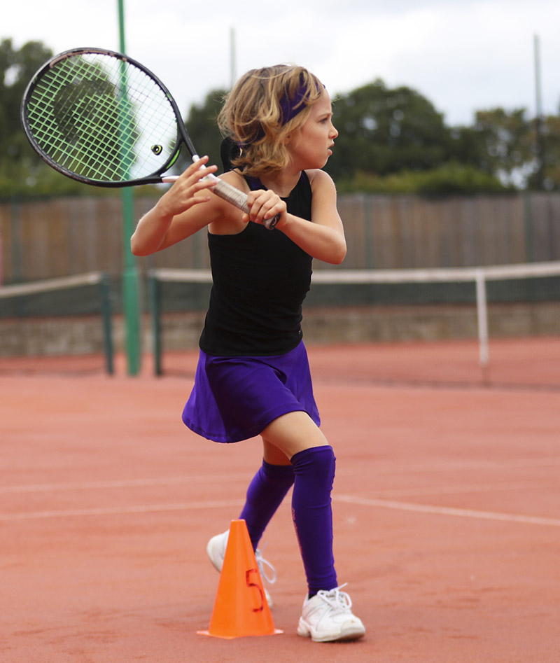 rafaela black purple violet racerback girls tennis dress zoer alexander uk