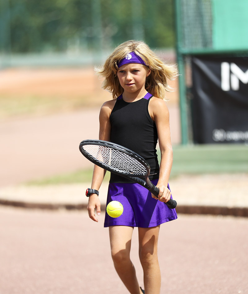 girls tennis dress black violet rafaela zoe alexander uk