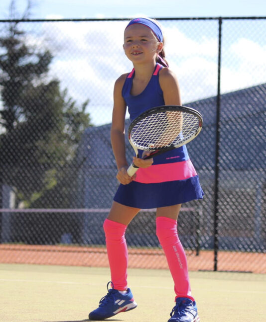 blue sophia girls tennis dress zoe alexander uk