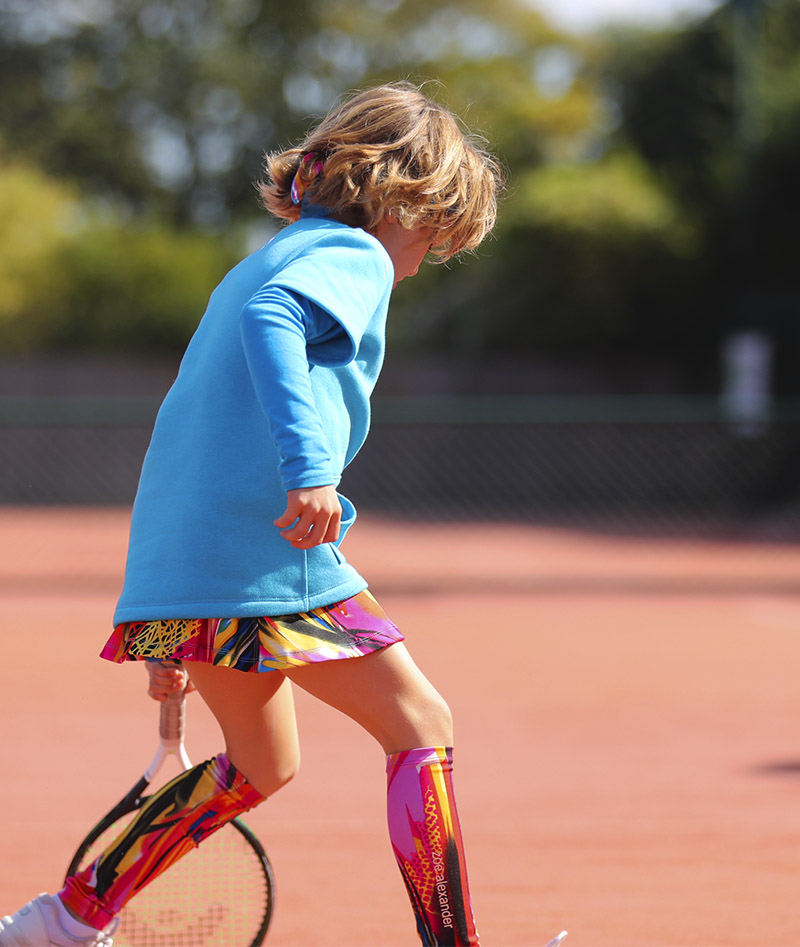 girls tennis top polar fleece zoe alexander uk