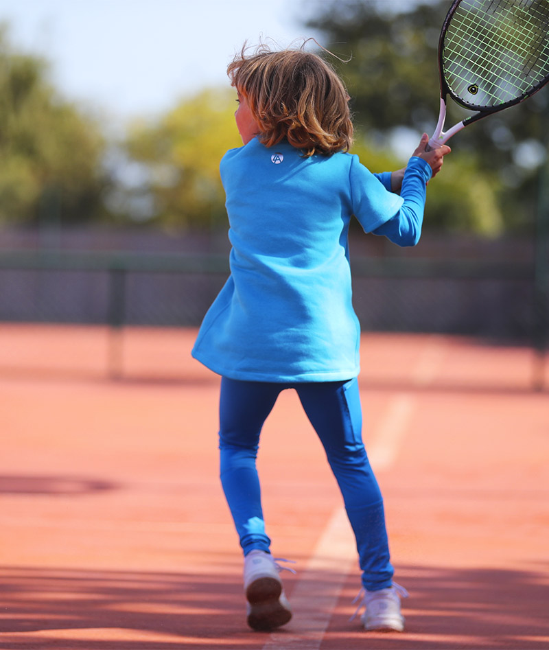girls tennis top polar fleece zoe alexander uk