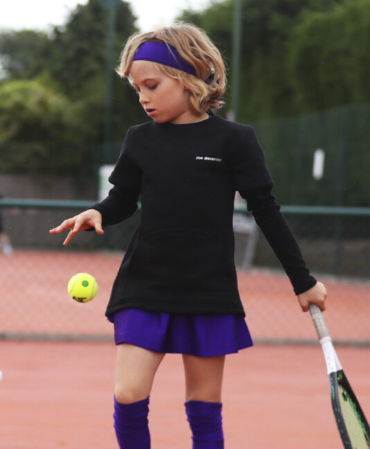 girls tennis top polar fleece zoe alexander uk porter tennis