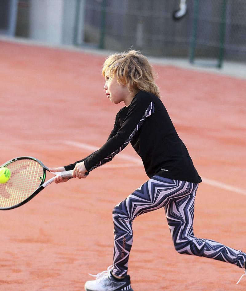 zigzag girls tennis leggings zoe alexander uk ball pocket