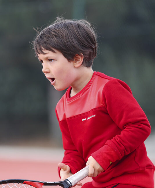 red hot fiery sweatshirt boys tennis tops zoe alexander uk