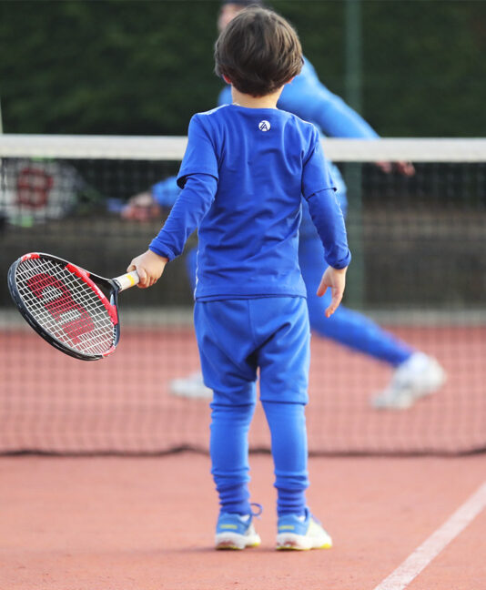 boys long sleeve tennis top zoe alexander cotton kit