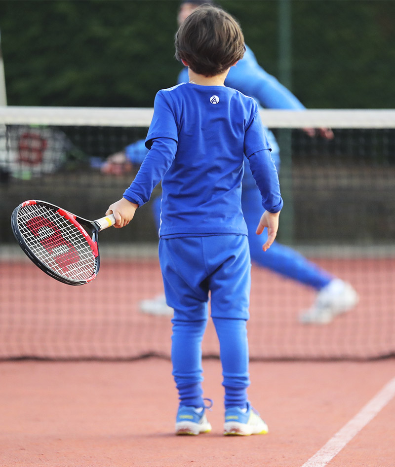 boys long sleeve tennis top zoe alexander cotton kit