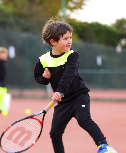 boys black tennis sweatshirts Zoe Alexander UK