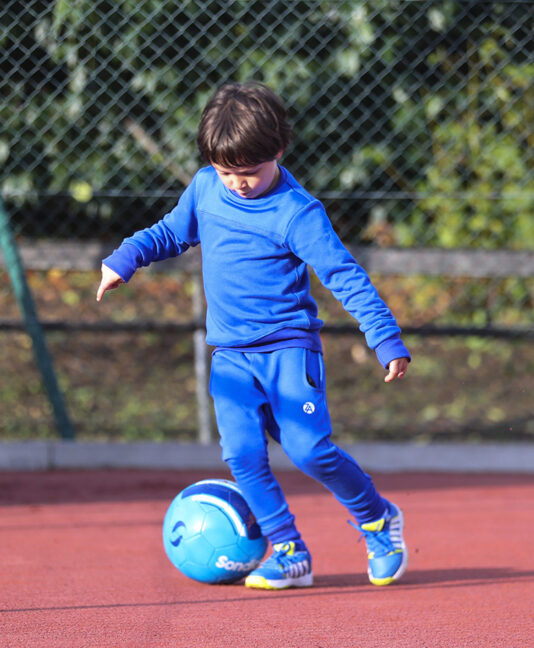 cool blue tennis sweatshirt top zoe alexander uk