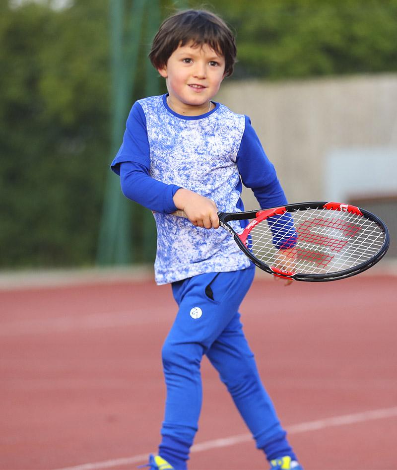 blue cloud tennis tee shirt zoe alexander tops