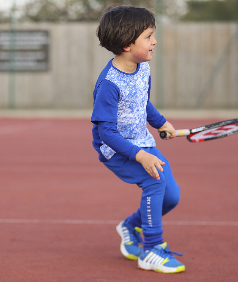 blue cloud tennis top boys zoe alexander uk