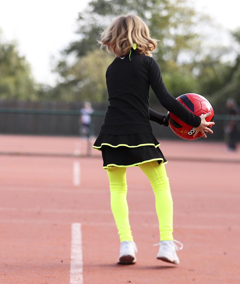 black tennis dress racerback rachel porter zoe alexander uk
