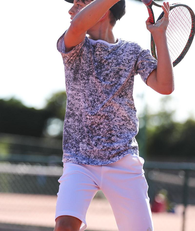 dominic cloud grey tennis tee shirt white shorts boys tennis kit zoe alexander uk boys white tennis shorts slim fit