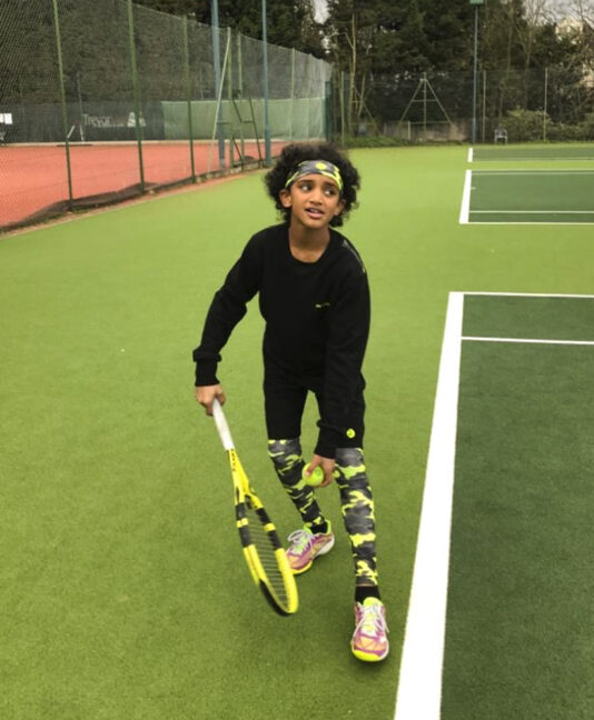 camouflage boys tennis base layers Zoe Alexander