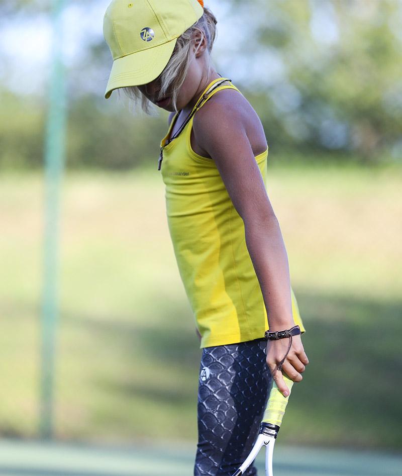 CROCODILE Girls Tennis Long Leggings HONEY TOP ZOE ALEXANDER UK ZA 800 A A96I5641