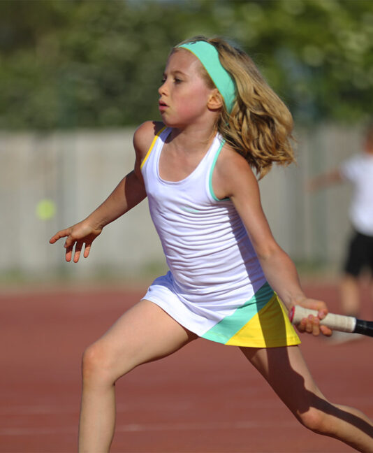 cool tropical mint girls tennis dress from zoe alexander uk