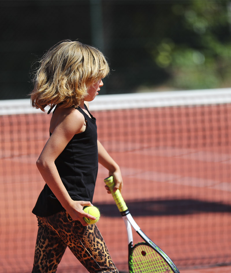 leopard tank top and tennis capri pants zoe alexander uk