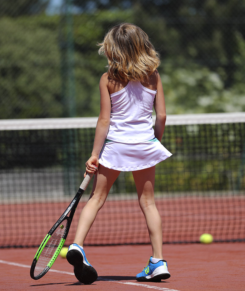 cool white mint girls tennis tank top zoe alexander uk