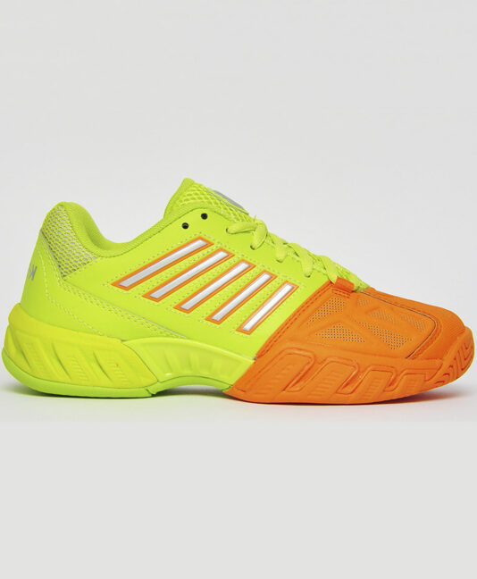 tropicana neon k swiss bigshot tennis shoes zoe alexander uk