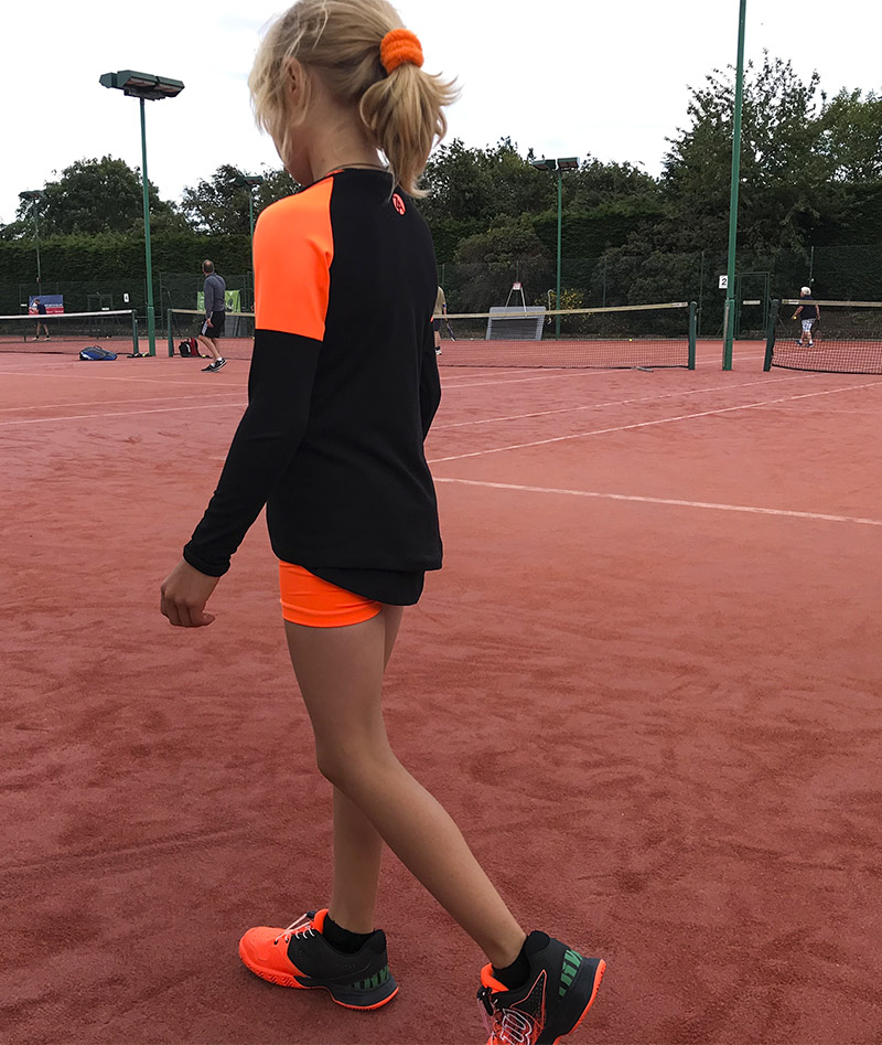 ivanna long sleeve tennis training top zoe alexander uk