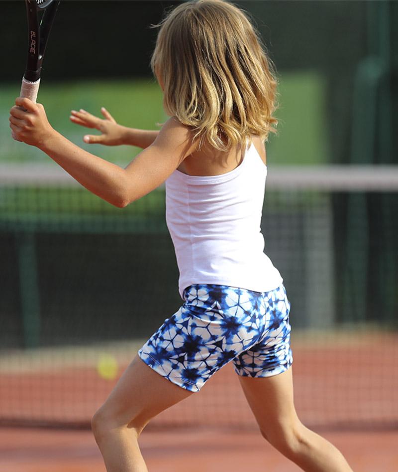 hex performance girls tennis shorts zoe alexander uk