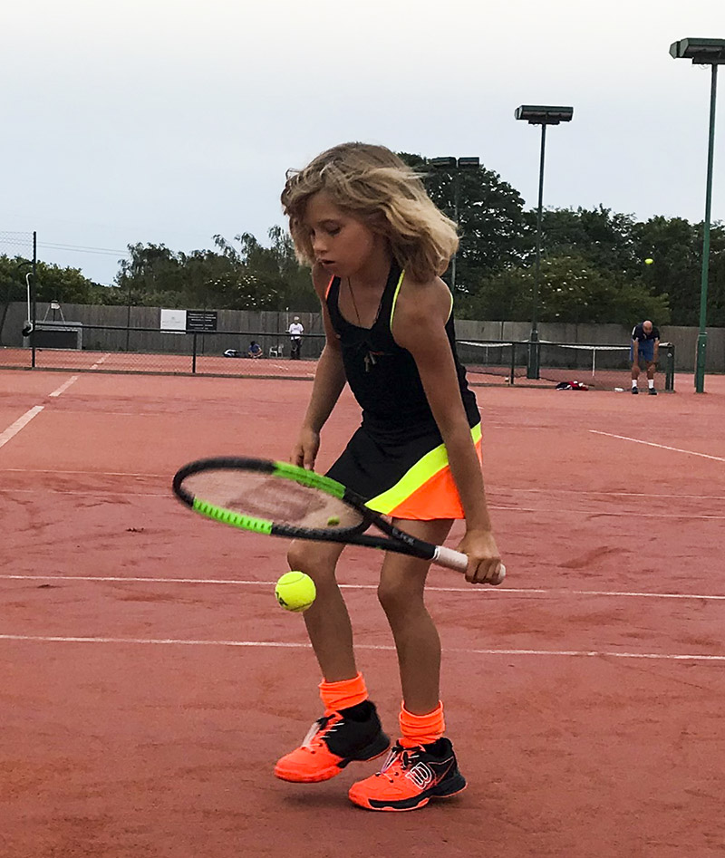 ivanna girls black tennis dress zoe alexander uk