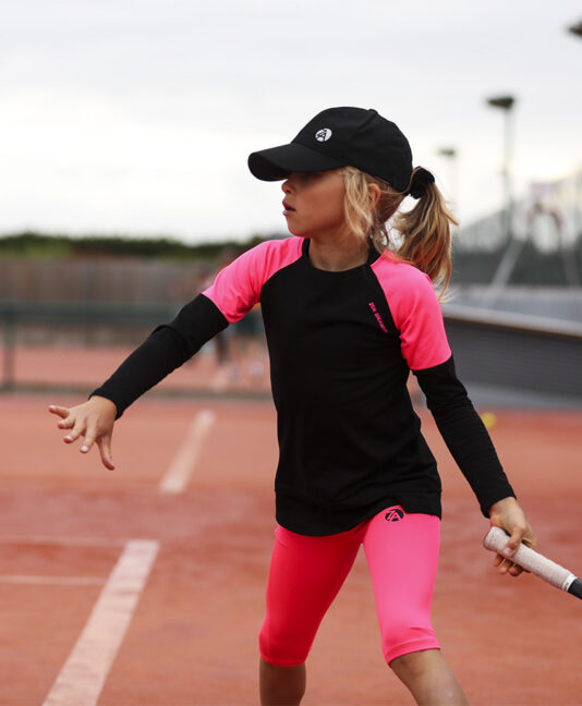 sapir long sleeve tennis training top for girls zoe alexander uk