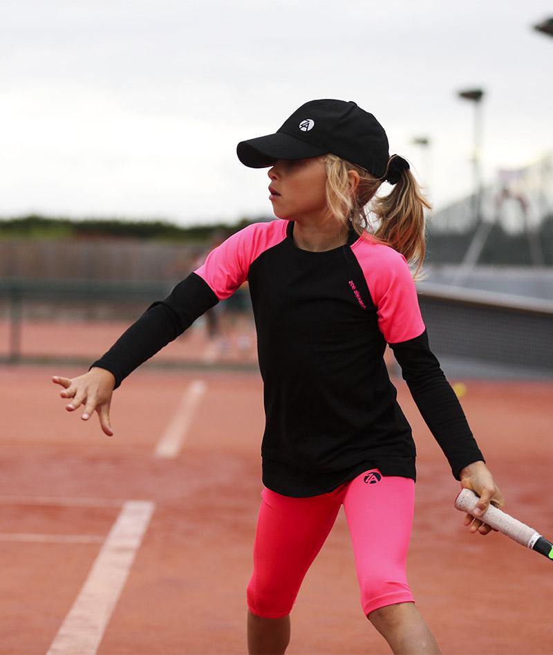 sapir long sleeve tennis training top for girls zoe alexander uk