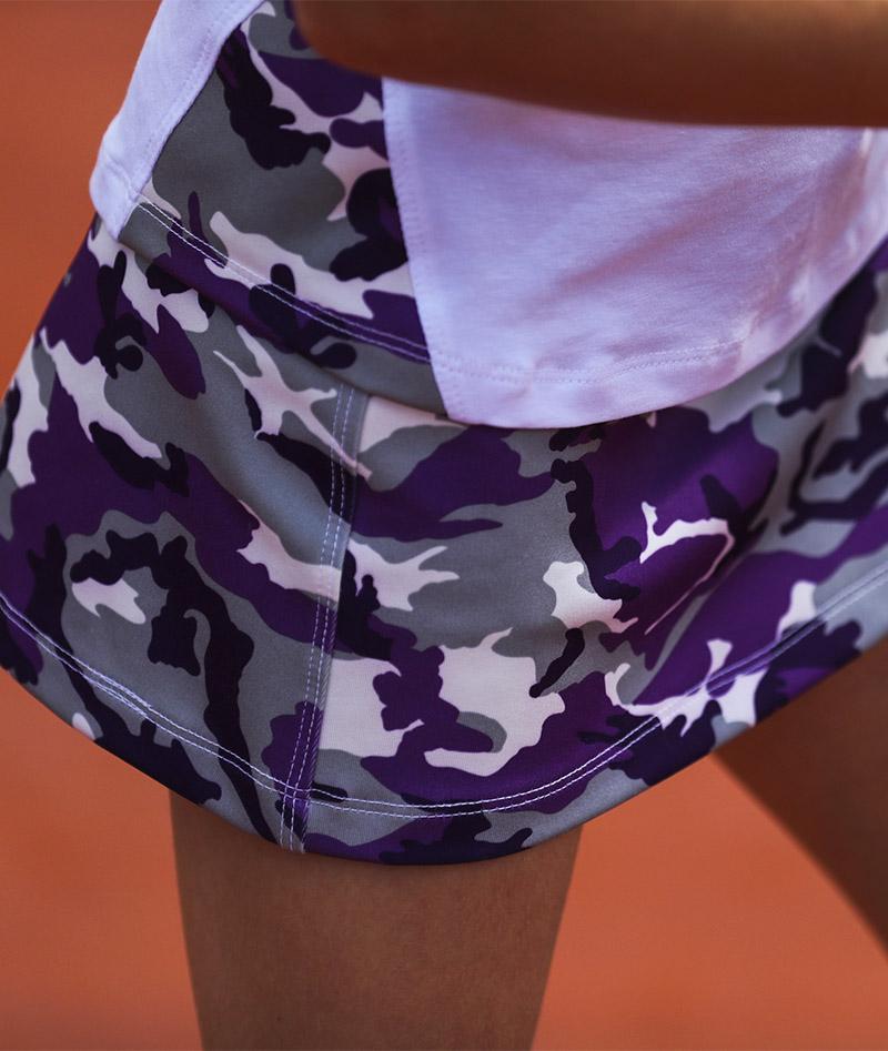 camo violet a line skirt zoe alexander uk