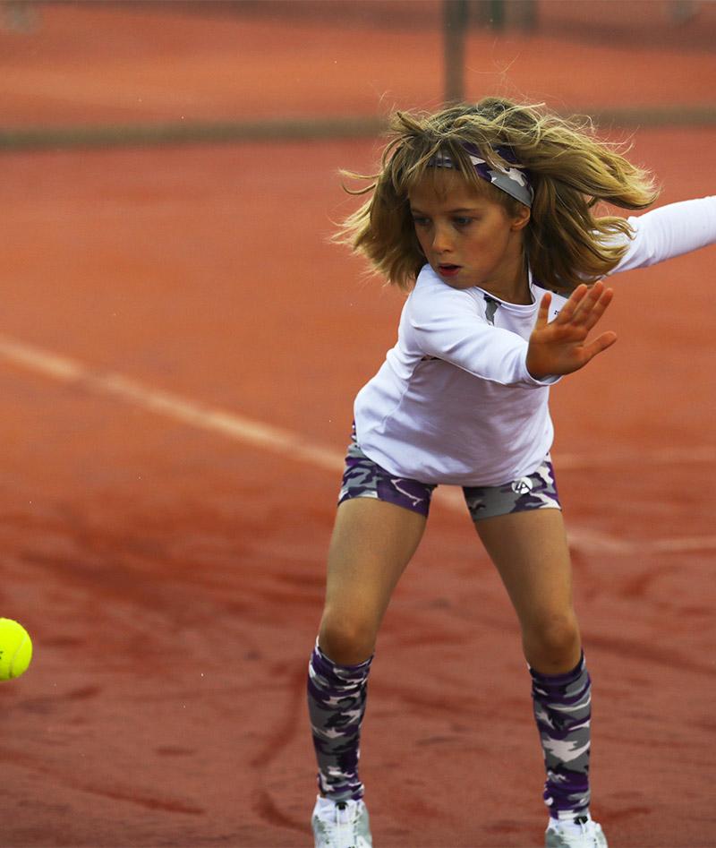 camo violet long sleeve raglan tennis top zoe alexander uk