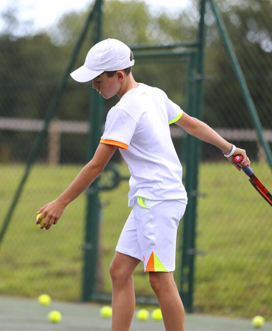 sebastian boys white tennis kit zoe alexander
