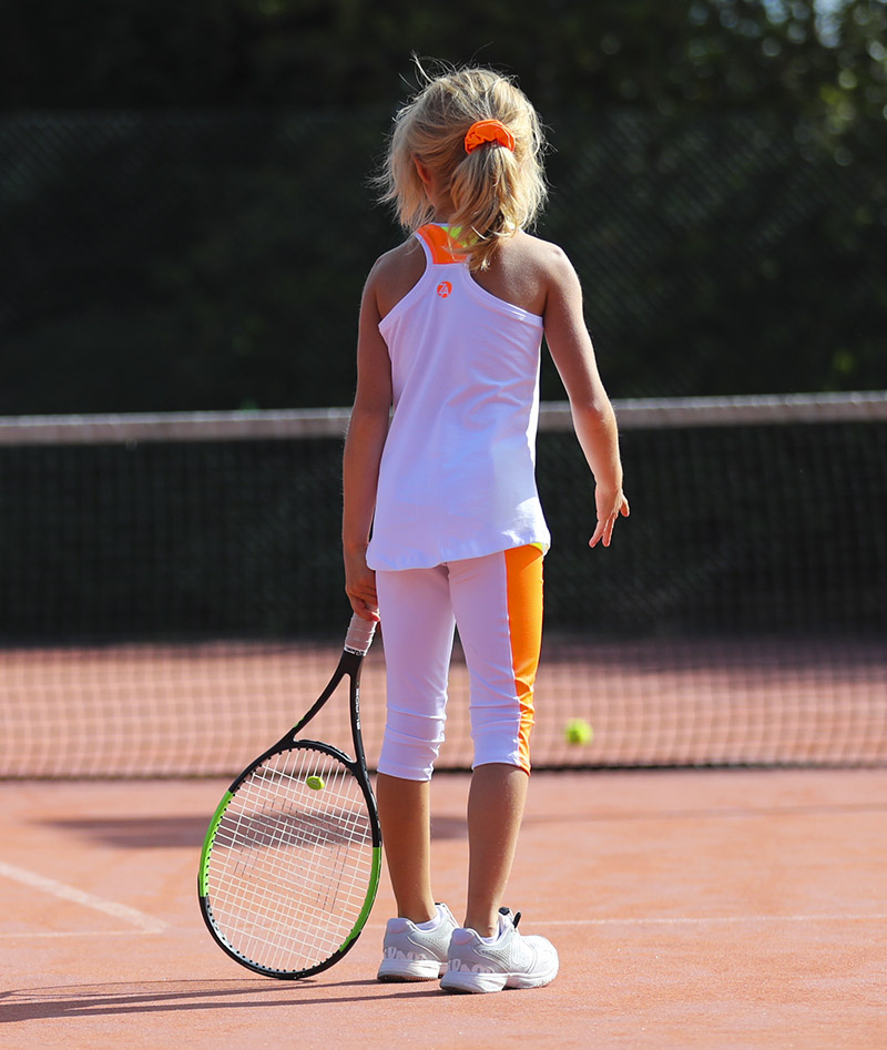 tropicana girls tennis tank top vest zoe alexander uk