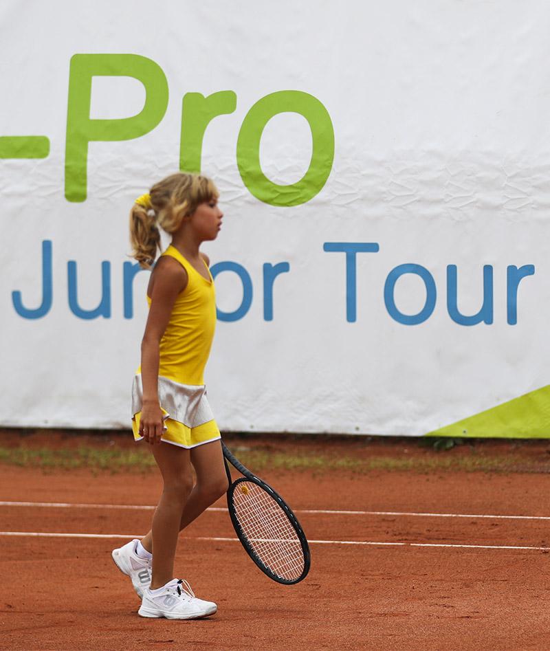 lemon yellow girls tennis dress zoe alexander uk