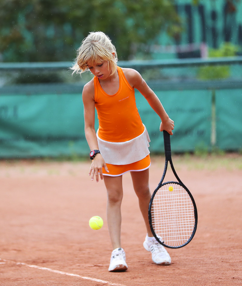 orange zest girls tennis dress zoe alexander uk