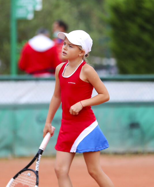 red paris bowl girls tennis dress zoe alexander uk